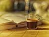 Macro Mondays - Redux 2016 - Coffee (Sizun Eye) Tags: redux 2016 macromondays macro hmm coffee café livre book bokeh sigma105mmf28macro stilllive nikon nikond750 sigma