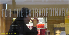 `1890 (roll the dice) Tags: london westminster westend selfridges window lunch glass reflection rooster chinese sign ords asian pretty sexy gir profile portrait stranger candid mad sad fun eat music earphones shops shopping fashion londonist fingers canon tourism newyear urban england people natural side nice uk art classic unknown