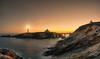 Isla-Pancha (naret) Tags: isla cantabrico pancha ribadeo mar island sea paisaje landscape nigth amanecer dawn estrellas star lighthouse faro