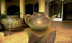 Troublesome Teapot (CopperScaleDragon) Tags: teapot finally mandelbulb3d mdb3d