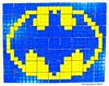 Batman Rubik's Cube Mosaic (Kitslam's Art) Tags: rubikscube rubiks rubik rubix twistypuzzle twisty puzzle collection mosaic pixel art artist youtube pixelart nintendo superhero super hero batman nerd geek awesom awesome whoa