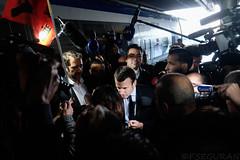 Emmanuel Macron (fredomarseille) Tags: marseille macron politique gauche droite train locomotive gare démagogie discours campagne electorale urne vote président banque