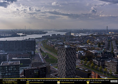 Down River from the Euromast (andrewtijou) Tags: andrewtijou nikond7200 europe netherlands southholland dutch rotterdam nieuwemaas river water port dock euromast viewpoint nl