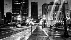Viaduto do Chá - São Paulo - SP - Brasil (Leandro Matumoto) Tags: são paulo preto e branco viaduto noite night sp
