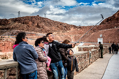 Family Selfie (Stefan Schafer) Tags: hooverdam people places street family nevada selfie nikon d750 clouds smile