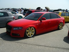 Audi A4 (911gt2rs) Tags: mivw meeting treffen show event low stance tief tuning slammed b8 s4 airride airlift rot red bentley wheels felgen sline