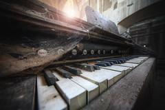 urbex music (Michal Seidl) Tags: abandoned church opuštěný kostel verlassene kirche czech urbex hdr harmonium organ