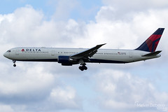 Delta Air Lines Boeing 767-432(ER)  |  N838MH  |  Amsterdam Schiphol - EHAM (Melvin Debono) Tags: delta air lines boeing 767432er | n838mh amsterdam schiphol eham melvin debono spotting canon 7d 600d plane planes polderbaan airport airplane aviation aircraft netherlands holland