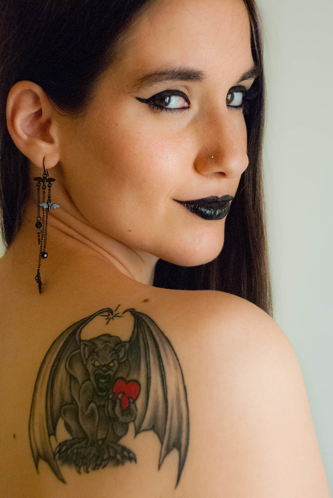 The world 39 s best photos of bat and tattoo flickr hive mind for Tattoo mole on face