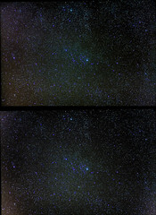 Looking for target. (Sakuto) Tags: stars night sky constelation astro dslr astrophoto astrometrydotnet:id=nova1971273 astrometrydotnet:status=solved