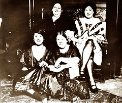 Ladies Of the Night (~ Lone Wadi ~) Tags: prostitutes ladies portrait brothel bordello retro 1890s 19thcentury victorian
