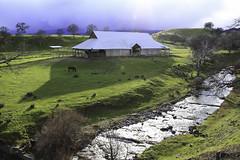 Last rays before the rain hits (trifeman) Tags: 2017 march california coastrange winter weather canon 7d canon7dmarkii glenn barn country ranch