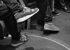 6 Feet Under...Brussels (Ren-s) Tags: blackandwhite noiretblanc shoes chaussures sneakers baskets jeans legs jambes pieds people personnes gens bruxelles brussels belgique belgium tram tramway city ville centreville towncenter europe street streetphotography rue photographiederue bokeh night nuit train voyage travel contrast contraste