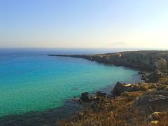 Coast of Favignana (sarasphotography) Tags: sicily favignana italy rocks mediterraneo water blue