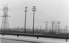 New Jersey Power Lines (en tee gee) Tags: powerlines newjersey substation 1960s