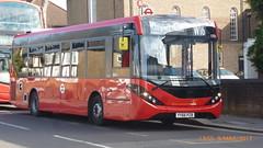 P1490253 1255 YY66 PZB at New Road Chingford Mount London (LJ61 GXN (was LK60 HPJ)) Tags: hackneycommunitytransportgroup ctplus enviro200 enviro200mmc enviro200d enviro200dmmc e200d mmc majormodelchange 1255 yy66pzb g26918 97m 9725mm