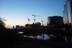 Sunset in Salford Quays (jamesfcochrane1) Tags: sunset salfordquays manchester
