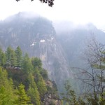 Blick aufs Kloster Taktsang, Bhutan