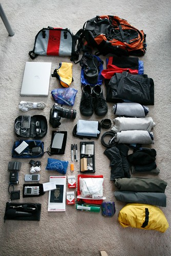 all that I am taking with me to china and thailand for 18 days.