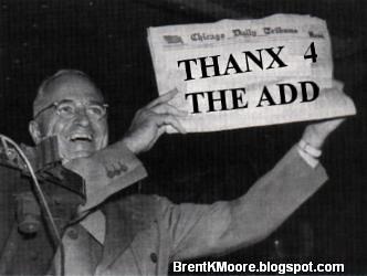 Truman Newspaper T4TA