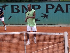 French Open 2006 (tennis buzz) Tags: tennis gael frenchopen monfils gaelmonfils frenchopen2006 tennisbuzz