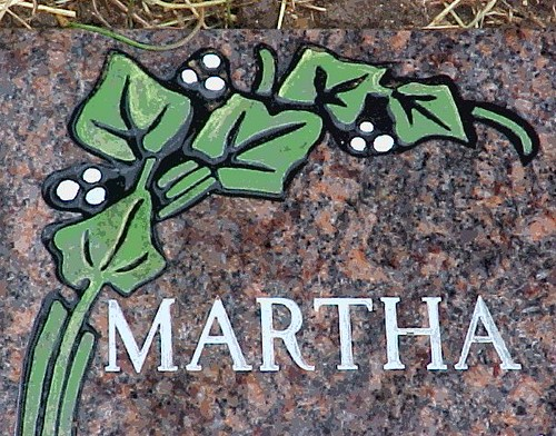 Part of Mom & Dad's Headstone ~ Mom Died 5 Years Ago Today