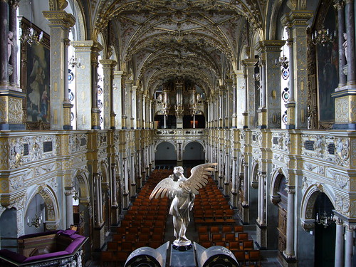 The chapel at Frederiksborg Slot