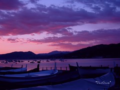 Sestri Levante - Baia delle Favole (*DaniGanz*) Tags: pink sunset sea sky italy beach water tag3 taggedout clouds bay boat interestingness europe tag2 tramonto nuvole mare tag1 purple liguria violet rosa barche explore cielo acqua viola fables spiaggia lilla sestrilevante baia favole 344 baiadellefavole fablesbay daniganz flickrsexplore fotoincatenate lifebeautiful