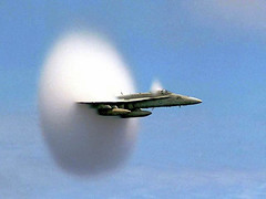 Sound Barrier Seen. (doneastwest) Tags: airplane military jet usnavy soundbarrier sciencenote