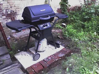 summer mobile photo outdoor grill