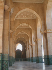 Arches 2 (icelight) Tags: africa art arches mosque morocco springbreak casablanca islamic hassanii