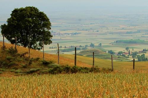 Vista de la comarca de La Bureba, Burgos | De Pastoral en Flickr