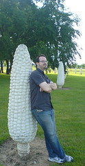 Corny (soldierant) Tags: columbus ohio summer nerd concrete corn phallic concretecorn dublinoh