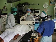 cirugía en hospital