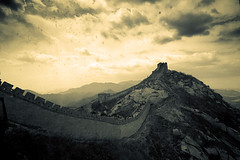 687 (saseki) Tags: china old wall amazing ancient chinese beijing greatwall granmuralla pekin badalin