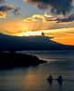 Sunset Sonata (^riza^) Tags: sunset bali indonesia boats amed thebiggestgroup indonesianphotobloggers