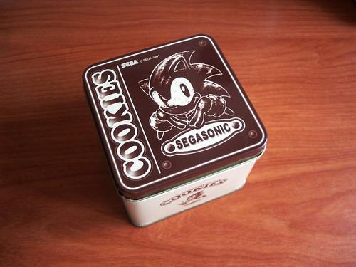 Bote de Galletas de Sonic
