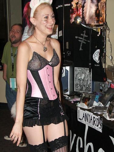Catgirls: Always Popular -- cosplay cat costumes catgirl nipple catears ears 2005 popular catgirls