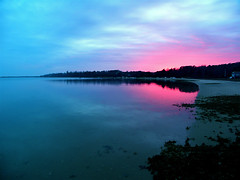 Winter Sunset- Stage Harbor (Chris Seufert) Tags: sunset harbor stage massachusetts chatham cape cod utatafeature chahtam flickrdiamond