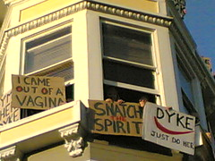 Dyke March - Signs of Support - by Flickmor