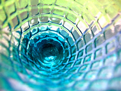 Inside the waffle glass for msh (Saffanna) Tags: blue glass tag3 taggedout tag2 tag1 saffanna stg waffle interestingness176 i500 utatafeature msh0606 msh060616 kakadoochoice btos itsmypartyofone