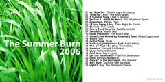 FunJunkie Summer Burn mix CD cover