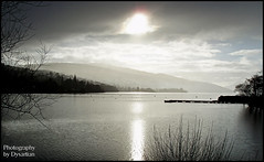 Loch Tay Rain (Dysartian) Tags: winter light lake water sunshine rain scotland fife perthshire olympus explore kenmore lochs lochtay kirkcaldy dysart perthandkinross platinumphoto impressedbeauty platinumheartaward olympusmju800 dysartian