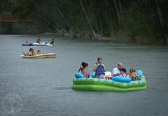 Family fun (Jason Abbott) Tags: rain river idaho boise rafting boiseriver