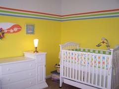 Baby nursery update