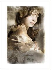 Fade reminiscences (vaskoni) Tags: light portrait collage dark mixed surreal mystical