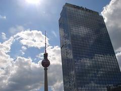 Alexanderplatz (Adson) Tags: summer berlin hotel sommer alexanderplatz fernsehturm funkturm parkinn televisiontower