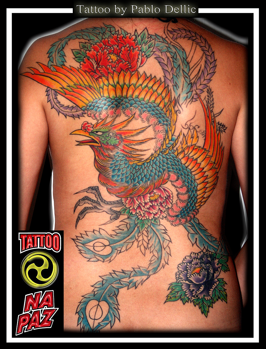 ,Phoenix backpiece Tattoo