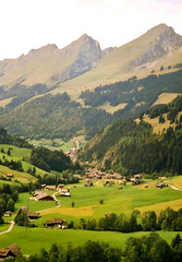 Gruyre - Switzerland (Lylla Lausanne) Tags: 2003 summer mountains landscape switzerland view suisse fribourg t paysage fr ch digitalizada gruyre