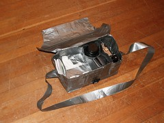 Duct Tape Camera Bag